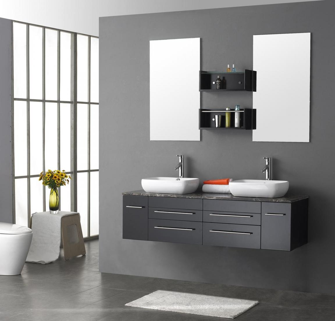 modern-hanging-vanity-mirrors-for-bathroom-with-twin-small-mirror