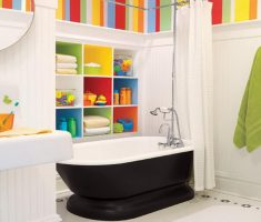 fascinating-kid-bathroom-decoration-ideas-with-colorful-decor
