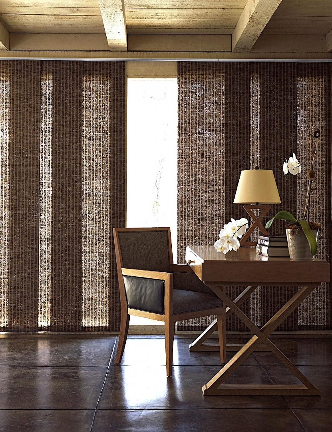 amusing-brown-curtains-for-sliding-glass-doors-for-minimalist-decor