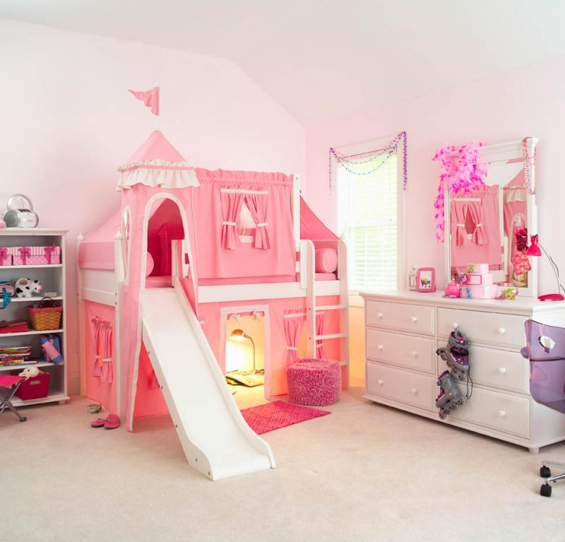 comfy-cute-disney-princess-bedroom-castle-diy