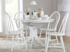 enchanting-minimalist-white-hudson-dining-table-and-4-windsor-chairs