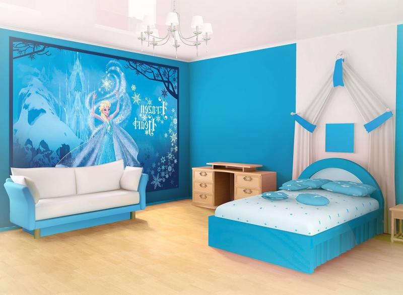 frozen-elsa-wallpaper-for-disney-princess-bedroom-decor