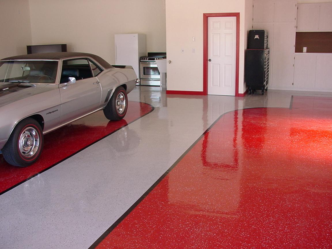 garage-floor-cover-coating-red-and-white-colours
