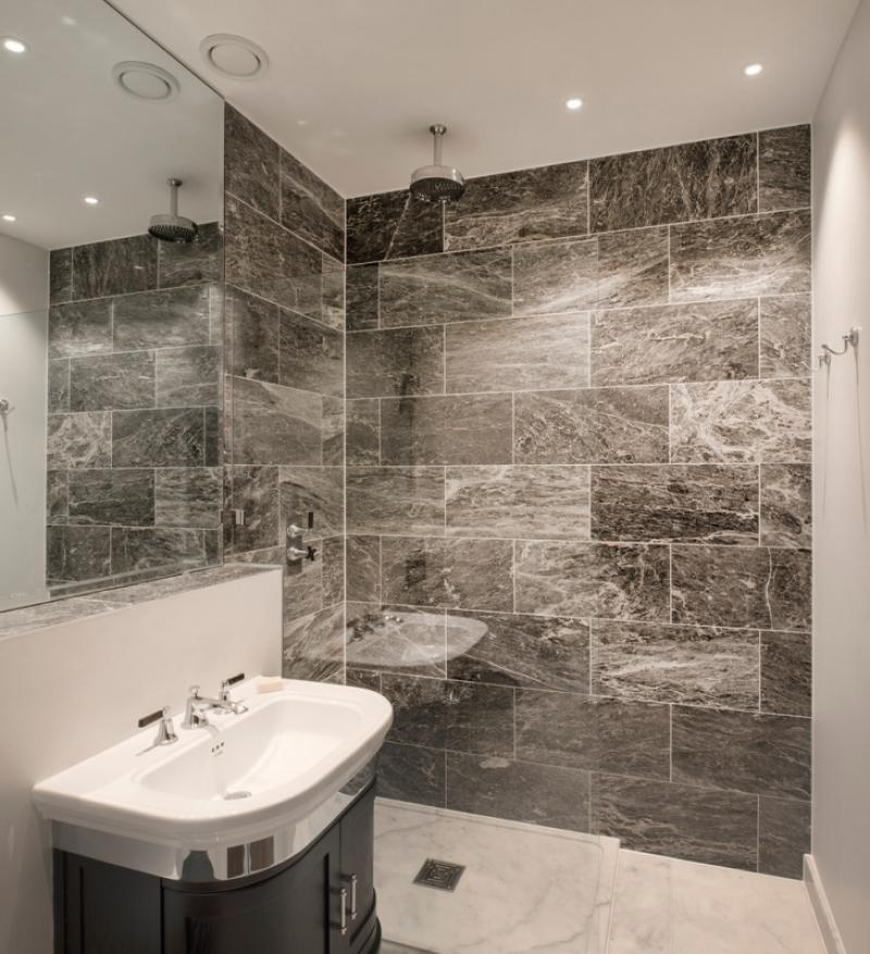 grey-basement-bathroom-ideas-with-marble-wall-tiles