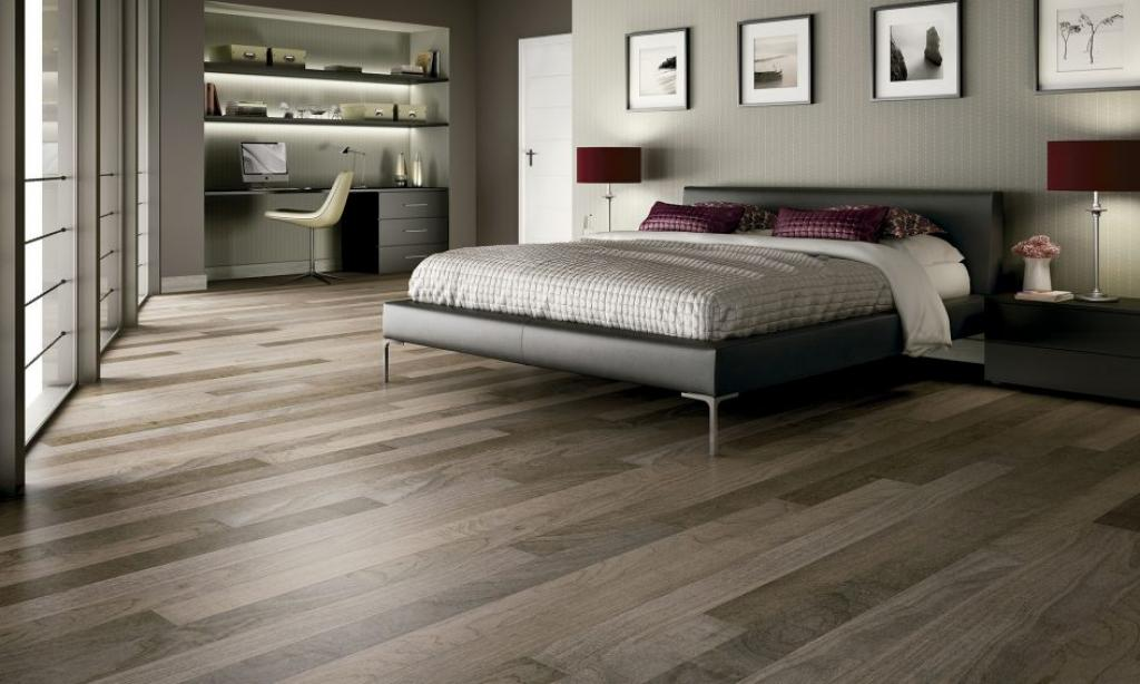 grey-dark-hardwood-floors-on-bedroom