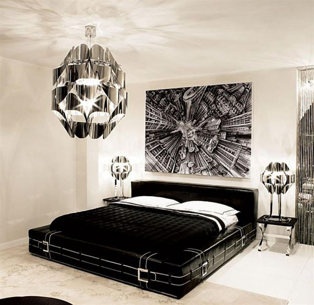 black-and-white-bedroom-for-men