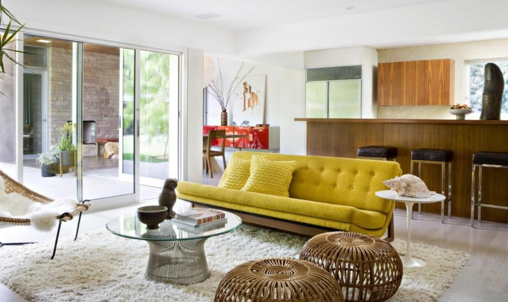 captivating-feng-shui-style-of-interior-design-living-room-with-white-tufted-sofa-and-furry-whtie-rug-with-rattan-ottoman