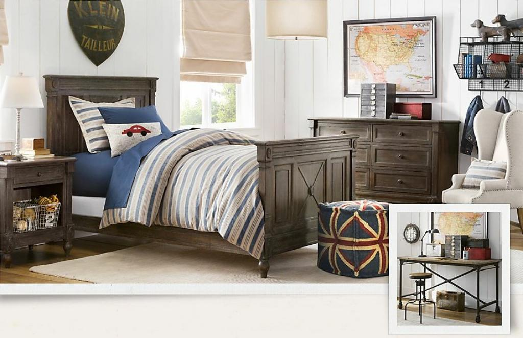 cool-boys-room-ideas-with-wooden-bed-materials