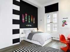 fancy-black-and-white-bedroom-for-small-space-for-boys