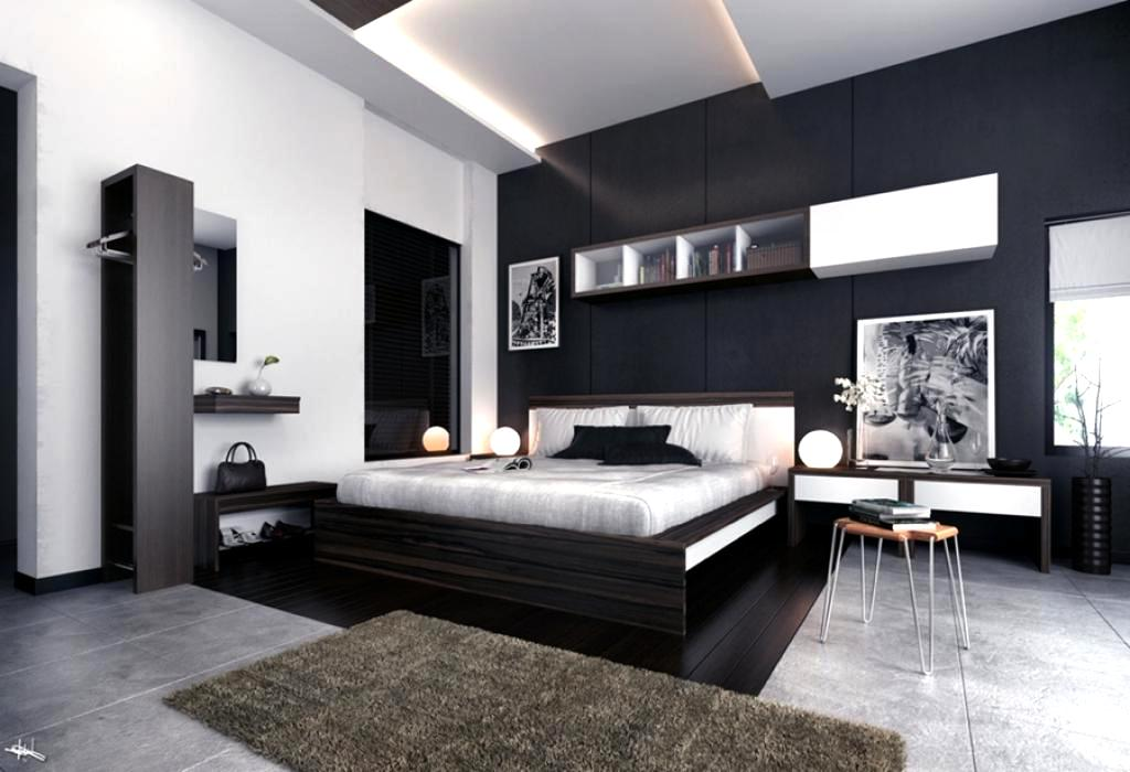 modern-black-bedroom-decorating-ideas-with-white-and-grey-theme-color-decor