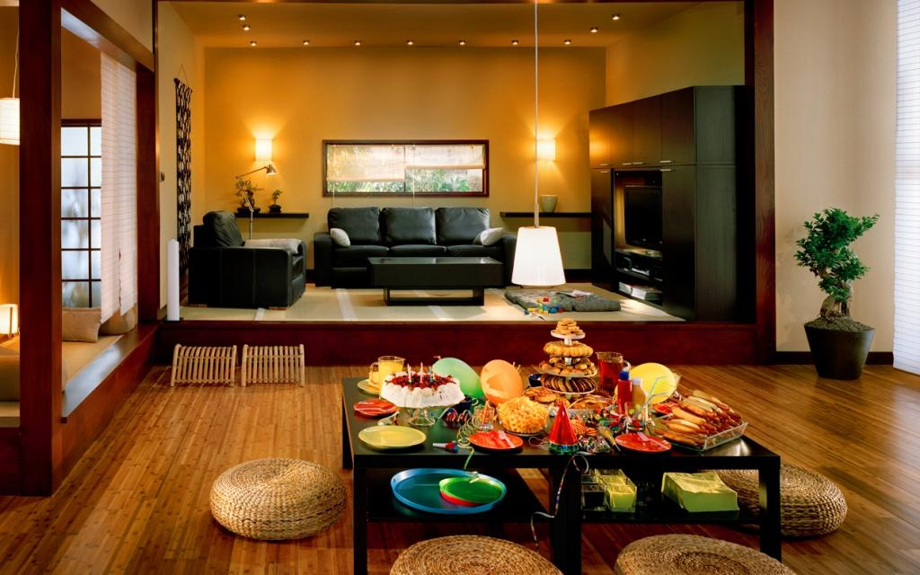 warm-theme-colors-for-feng-shui-style-of-interior-design-liivng-room-with-chinese-dining-room