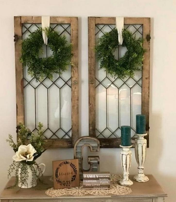 Fascinating Ideas for Decorating Old Windows & 40 Inspirations