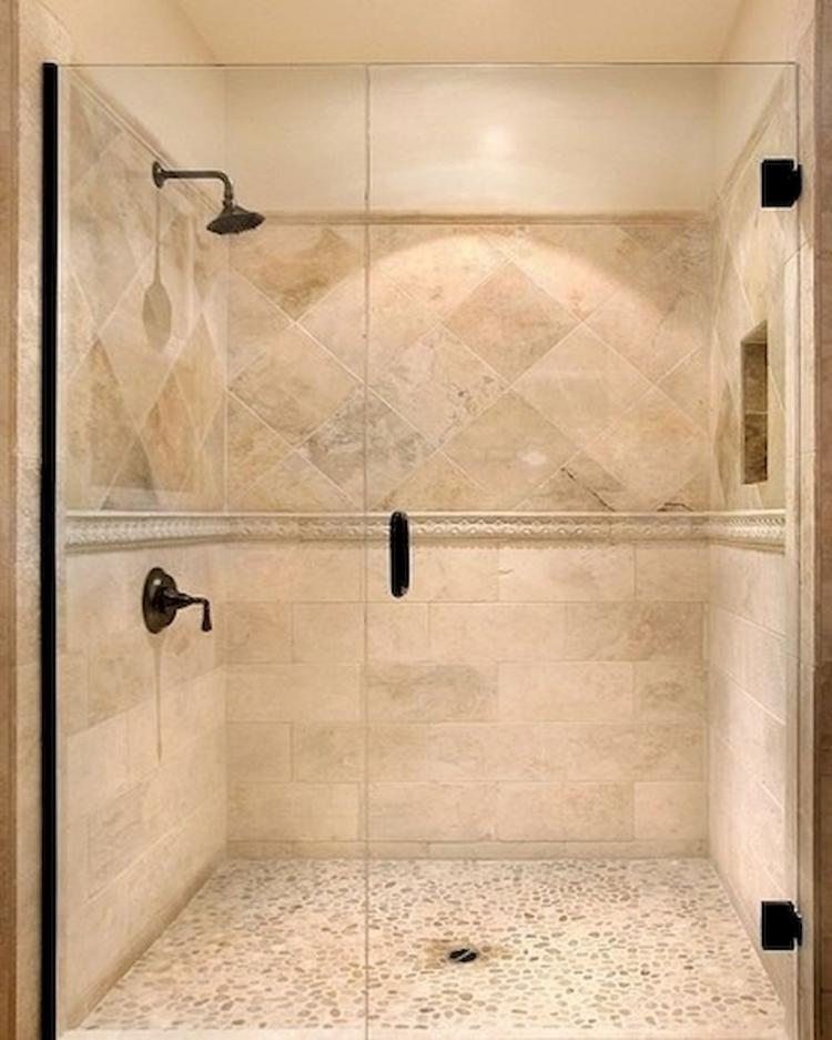 Small Master Bedroom Ideas And Inspirations: 50 Beautiful Bathroom Shower Tile Ideas