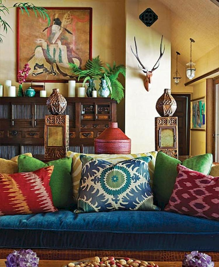 50+ Eclectic Living Room Decorating Ideas