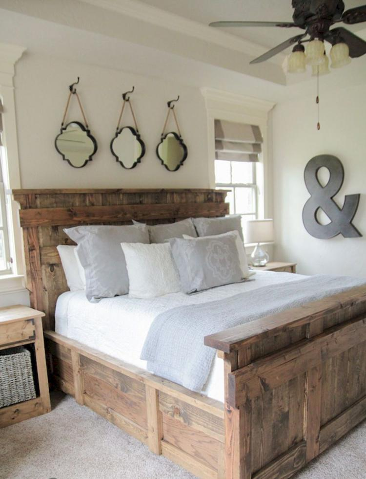 45 Rustic Master Bedroom Decor Ideas